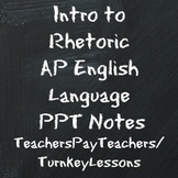 Intro to Rhetoric