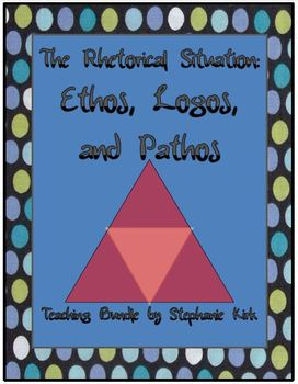 Intro to Rhetoric: Ethos, Logos, and Pathos - Customize .PPT and .DOC!
