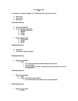 Intro to Rhetoric Outline Unit Plan (CCSS) with Summative Assessment & Rubric