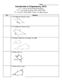 Intro to Right Triangle Trig - SPT