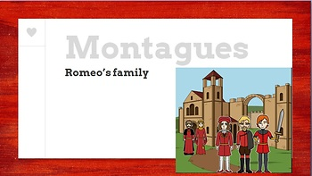 Intro to Romeo and Juliet (Characters)