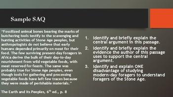 Intro to SAQ-WHAP