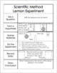 Intro to Science Unit (Includes Science Safety & Scientific Method)