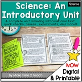 Intro. to Science: {includes the scientific method}
