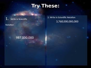 Intro to Scientific Notation