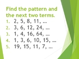 Intro to Sequences and Explicit Formulas