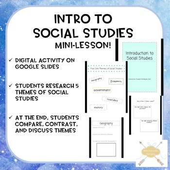 Intro to Social Studies digital ISN mini-unit