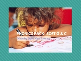 Phonics Pack: Intro to Soft C & G (Orton-Gillingham)