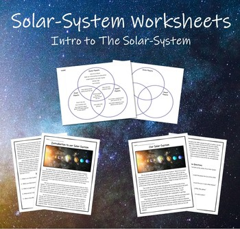 Intro to Solar-System Supplemental Materials (Reading Passages & Venn Diagram)