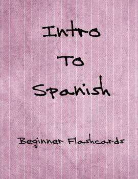 Intro to Spanish - Flashcards