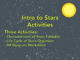 Intro to Stars -- Astronomy Activities
