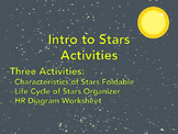 Intro to Stars -- Astronomy Activities