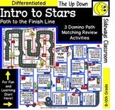 Intro to Stars- Domino Path Matching- Path to Finish Line