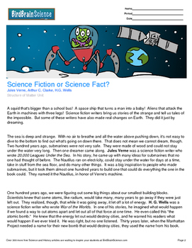 Intro to Matter, Science Fiction or Science Fact? - Engaging Science Reading