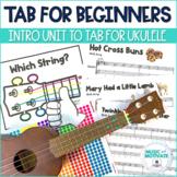 Intro to Tablature for Ukulele