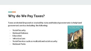 Intro to Taxes
