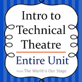 Intro to Technical Theatre Drama Entire Unit