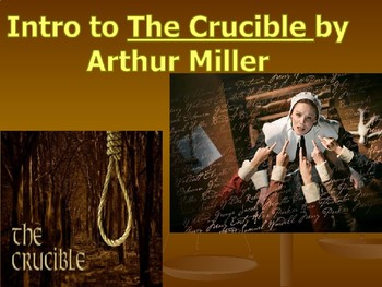 Intro to The Crucible PP
