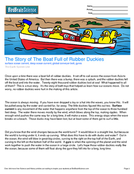 Intro to The Earth System, The Boat Full of Rubber Duckies - Engaging Science