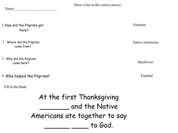 Intro to The First Thanksgiving