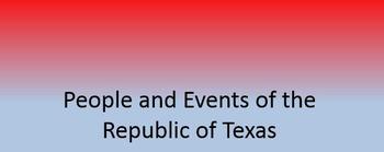 Intro to The Republic of Texas TEKS