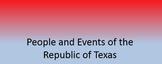 Intro to The Republic of Texas Lesson TEKS