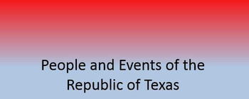 Intro to The Republic of Texas