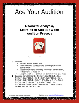 Auditions-Theatre-How to Ace Your Auditions