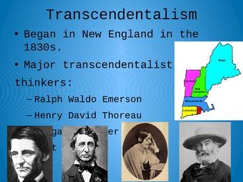 Intro to Transcendentalism PowerPoint