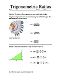 Intro to Trig - Algebra notes on Soh-Cah-Toa!