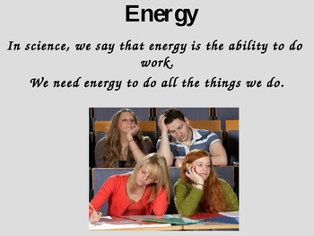 Intro to Types of Energy PP