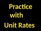 Intro. to Unit Rates