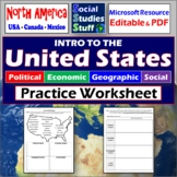 Intro to the United States   PEGS Factors Practice Workshe