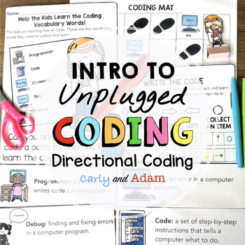 Intro to Unplugged Coding: Directional Coding