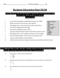 Intro to WORD/EXCEL final exam