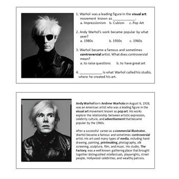 Intro to Warhol's Pop Art
