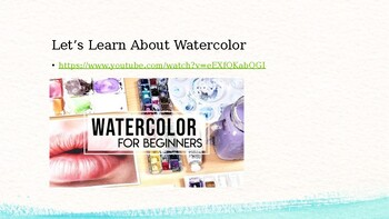 Intro to Watercolor + Project