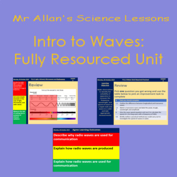 Intro to Waves - Fully Resourced Unit