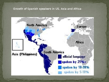 Intro to World Languages and Spanish Speaking Countries -