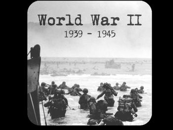 Intro to World War II/WWII/WW2 PowerPoint U.S. History/Social Studies