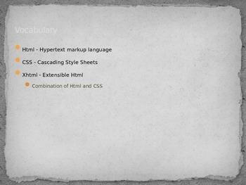 Intro to XHTML Presentation