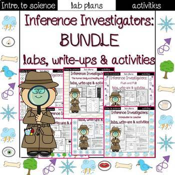 Intro. to science: lab and activities bundle!
