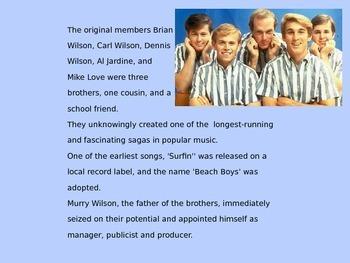 Intro to the Beach Boys