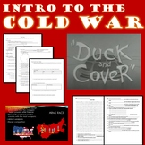 Intro to the Cold War Powerpoint, Notes, Word Search