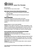 Intro to the Counselor Lesson Plan