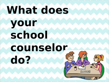 Intro to the Counselor PowerPoint