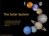 Intro to the Solar System