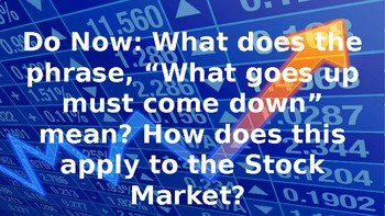 Intro to the Stock Market PowerPoint