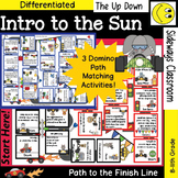 Intro to the Sun- Domino Path Matching Review Activity- Path to Finish Line