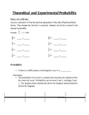 Introducation to Probability Guided Notes